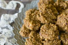 Vegan, Sugar-free Spiced Carrot Cake Cookies Recipes