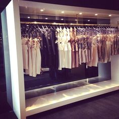 Do you walk in your boutique closet every day with enthusiasm? Part of looking your best is making sure you have your boutique organized and set up beautifully! Set yourself up for success each day! Boutique Interior, Boutique Design, Boutique Decor, Boutique Stores, My Boutique, Bridal Boutique, Boutique Clothing, Fashion Boutique, Boutique Ideas