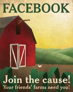 Facebook Propaganda Poster (Redesign) by Justonescarf on Etsy