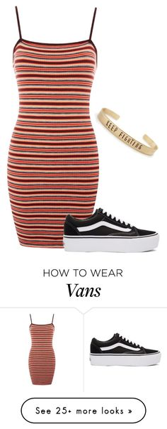 """Geen titel #447"" by perisuozgun on Polyvore featuring Topshop and Vans"