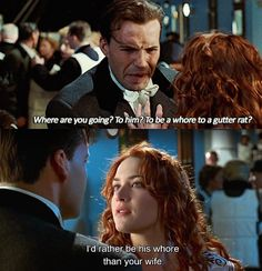 When Cal tried shaming Rose, but she had another thing coming in <i>Titanic</i>: