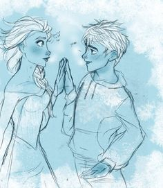 Cold by s0alaina 'see your touch doesn't hurt me...' <--- This is is adorable, but I love Jackunzel too much to ship these two...