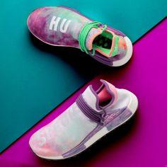 "Perfect Pharrell × adidas NMD Human Race ""Shock Pink"" reps"