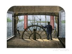 """size: Giclee Print: Pilot House of Mississippi Riverboat """"Great Republic,"""" : Wooden Model Boats, Wooden Boats, Show Boat, Sailing Regatta, Best Boats, Naval History, Canal Boat, Steamboats, Tug Boats"""