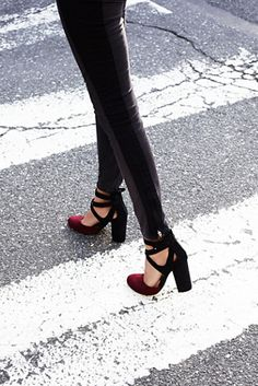 | Free People strappy vegan suede block heels with a round pony toes featuring a metallic snakeskin design.