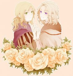Hetalia Hungary and France