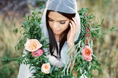 Beautiful floral garland