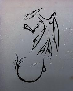 __httyd_night_fury_tattoo___by_slawomiro.jpg (900×1125)