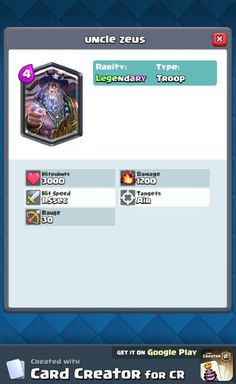 MTG mixed with clash Royale. Google Play, Card Creator, The Creator, Samurai, My Singing Monsters, Clash Royale, Optimus Prime, Le Point, Yolo