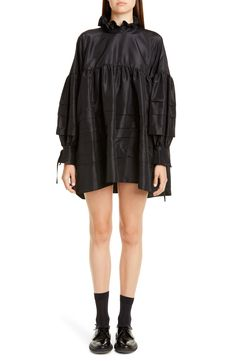 online shopping for Cecilie Bahnsen Alberte Pleated Long Sleeve Taffeta Tunic Dress from top store. See new offer for Cecilie Bahnsen Alberte Pleated Long Sleeve Taffeta Tunic Dress Silk Joggers, Taffeta Dress, Plus Size Blouses, Nordstrom Dresses, Women's Fashion Dresses, Knit Dress, Tunic, Dresses With Sleeves, Clothes For Women