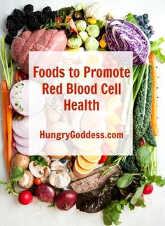 Foods to Promote Red Blood Cell Health @XickleRBC #healthy