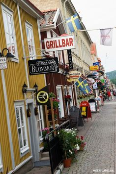 ~Gränna, the city of candy canes, located on the eastern shore of Lake Vattern. One of my favorite places in Sweden.