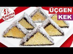 Üçgen Kek Tarifi Videosu, Nasıl Yapılır? - Kadınca Tarifler