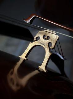 Let's face it: A Bridge is a Beautiful Thing. #cello #cellist #violinmaker #bridge