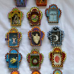 Matchbox-sized Mexican art ©Mexico Import Arts