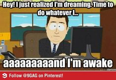 Been trying to lucid dream lately...
