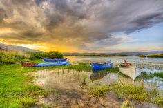 Sunset boats by Nejdet Duzen on 500px