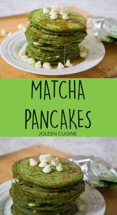 Matcha Pancakes Pin