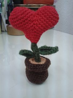 Flor corazón