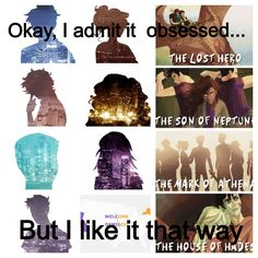 We're all obsessed but we like it that way! PJO HoO