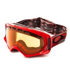 Key Features of the Oakley Crowbar Snowboard Goggles: Optimized for Medium to Larger Sized Faces Fog Elimination of Dual-vented lenses with F3 Anti-fog technology All-day comfort of moisture-wicking triple-layer polar fleece foam Balanced fit (with or without a helmet) via O Matter Strap outriggers