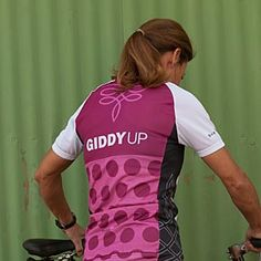 GiddyUp Cycling Jersey GiddyUp just makes me laugh!