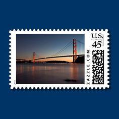 Golden Gate Bridge Stamps by fstasu53