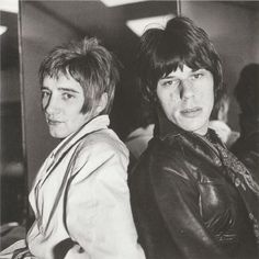 rod stewart and jeff beck. the jeff beck group