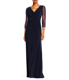 Shop for Adrianna Papell Jersey Beaded Gown at Dillards.com. Visit Dillards.com to find clothing, accessories, shoes, cosmetics & more. The Style of Your Life.