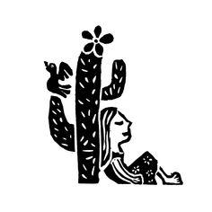 Xilogravura MandacaruTamanho total: 20 cm x 20 cmPapel offset branco Poster S, Poster Prints, Dream Tattoos, Tatoos, Brush Script, Coffee Drawing, Arte Popular, Lettering, Ink Art