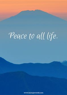 Peace ♥ | Laura Jaworski, Writer, Children's Book Author www.laurajaworski.com