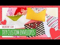 DIY Valentine's Day Envelopes - HGTV Handmade