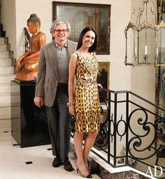 At Home with Jorge Elias in Sao Paulo, Brazil : Architectural Digest Jorge Elias, Tropical Home Decor, St Francis, Neoclassical, Life Magazine, Architectural Digest, Beautiful Interiors, Timeless Design, Mansions