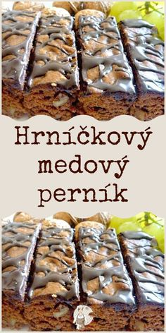 Czech Recipes, My Dessert, Desert Recipes, International Recipes, Baking Recipes, Food And Drink, Sweets, Beef, Homemade