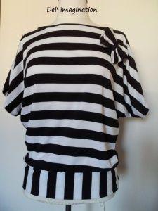 1er Tuto: Le Top/T-shirt manche chauve-souris