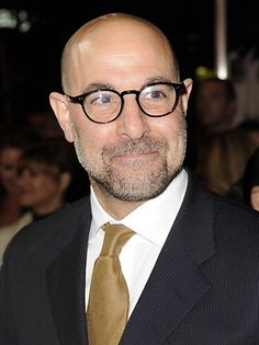 Stanley Tucci-love that bald man!