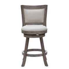 "Boraam Industries Inc Melrose 24"" Swivel Bar Stool with Cushion"