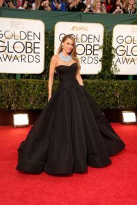 71st Annual Golden Globe Awards- Sofia Vergara in Zac Posen