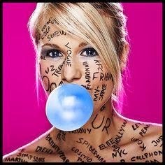 pop-culture-bubble-gum by Princesspoohodesk, via Flickr