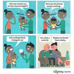 How funny!  socialrugrats.com  #kids #babies #parenting #mom #dad
