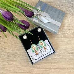 Handmade Jewelry, Diy Jewelry, Hand Print Ornament, Craft Jewelry, Handcrafted Jewelry