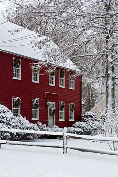 New England winter by Kristine Patti