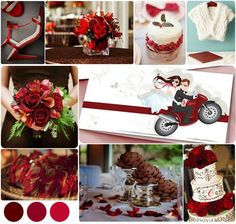 Hochzeit in Rot Inspiration und Ideen http://www.optimalkarten.de/blog/hochzeit-in-rot-inspiration-und-ideen/