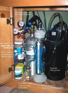 Pressurized CO2