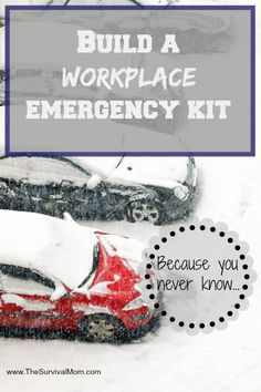 Built a Workplace Emergency Kit for every working person in your family. | www.TheSurvivalMom.com
