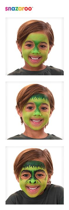 Snazaroo team up with Disney - follow ourHulk face paint guide!