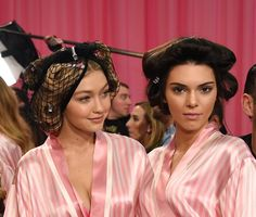 Pin for Later: All the Must-See Action From the 2015 Victoria's Secret Fashion Show  Pictured: Kendall Jenner and Gigi Hadid