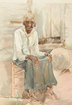 Aunt Jule--108 Years Old by Frank Stanley Herring / American Art