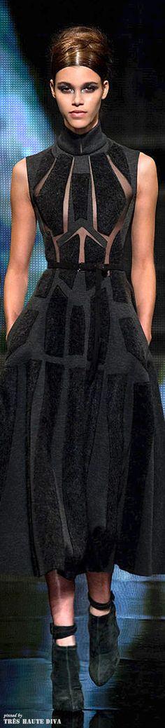 Donna Karan FW 2014-15 - New York Fashion Week jaglady                                                                                                                                                                                 More
