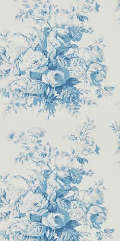 The very beautiful Francoise Bouquet wallpaper design from Ralph Lauren.